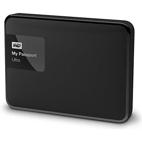 Western Digital My Passport Ultra 500GB Externe Festplatte (bis zu 5 Gb/s, USB 3.0) mattschwarz