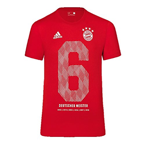 Adidas FC Bayern Múnich Meister Camiseta Kids 2018 Rojo 164 cm
