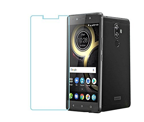 ZYNK CASE Lenovo K8 Note Tempered Glass [Perfect Sensor Cutout] [For 18th August Release Lenovo K8 Note] Screen Guard Protector - Clear(2.5D Premium Glass)  available at amazon for Rs.99