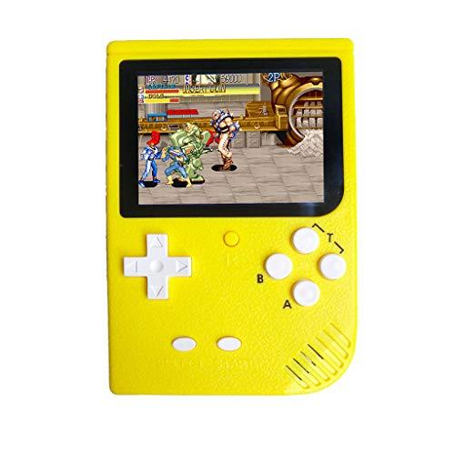 ekonsole 3-Zoll-2000-Spiele Retro FC Game Player Klassische Spielekonsole Spielautomat GBA Arcade FC Handheld-Spielkonsole SUP eingebauten 5 großen Simulator ()