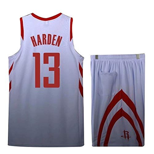 LIANGLIANG Nr. 0 Westbrook Brooklyn Rocket Jersey Harden Nr. 13 Gordon Trainingsball Kostüm Kinder Basketball Wear Men - Basketball Spieler Kostüm Männer