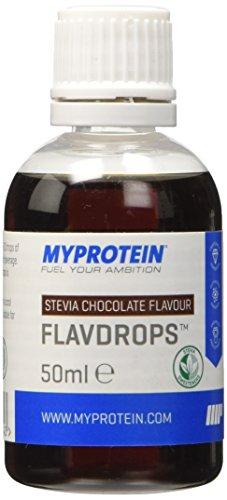 Myprotein Stevia Liquid Flavdrops, Aromi Naturali - 50 gr