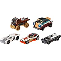 Mattel Hot Wheels djp17 – Modèles de transport, Star Wars Héros de la résistance Lot de 5