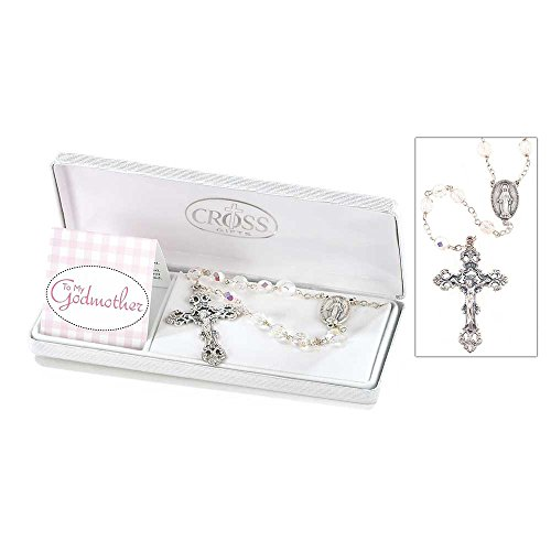 To My Godmother Rosary In Gift Box By Cherishables