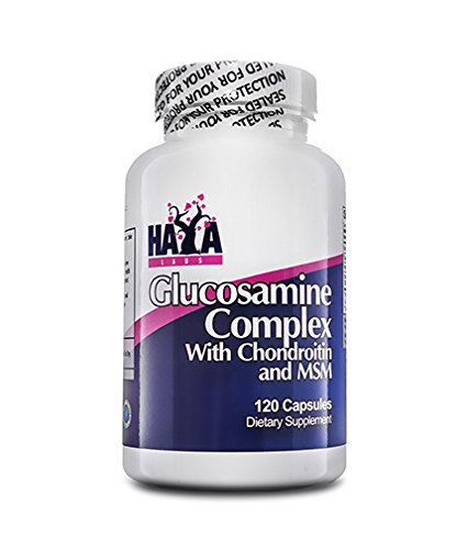 Haya Labs Glucosamine Chondroitin & MSM Complex 120 capsules Supports Healthy Joints