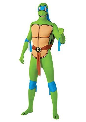 Teenage Mutant Ninja Turtle Leonardo 2nd Skin - Adult Costume Men : X LARGE by Rubies Costume Co (Men's Leonardo Ninja Turtle Kostüm)