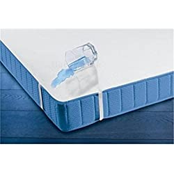 Baby Comfort Funda impermeable para colchón, 70 x 160 cm, para cama infantil o cuna, tejido transpirable terry