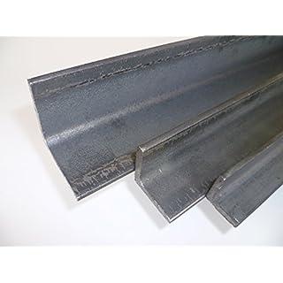 B&T Metall Stahl Winkel 50x50x5 mm in Längen à 1000 mm +0/-3 mm S235 (1.0038 ST37)