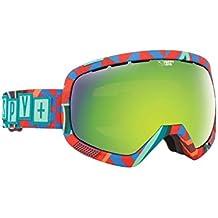 Spy Platoon–Gafas de nieve Spy + TSL + TravelMate (+ Bonus Lens) Goggle, color happy green spectra + hap, tamaño talla única