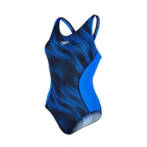 speedo-womens-muscle-back-fit-splice-allover-muscleback-swimsuit-black-deep-peri-size-36