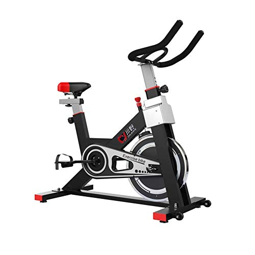 41Muidn9oKL. SS500  - JYKJ Indoor Sports Bicycle Indoor Bicycle, Adjustable Handle Seat Resistance, Home Aerobics Training Machine With Non-slip Foot Pedal