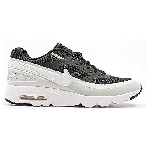 Nike Damen W Air Max BW Ultra Turnschuhe, Black (Schwarz / Pure Platinum-Weiß-Schwarz), 36 EU