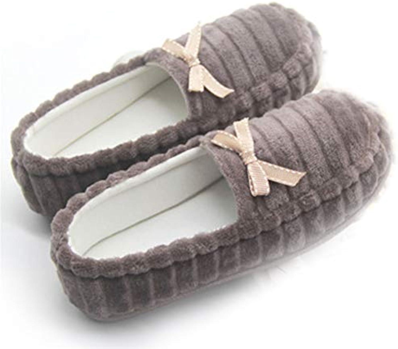 Coton Pantoufles Chaussons Maison Chaussures Anti-Slip Pantoufles Intérieur Intérieur Pantoufles Pantoufles-Accueil Sac d'automne d'hiver...B07JX756FKParent 5ac349