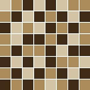 PrintYourHome Fliesenaufkleber für Küche und Bad | Mosaik Erde matt | Fliesenfolie für 15x20cm Fliesen | 24 Stück | Klebefliesen günstig in 1A Qualität