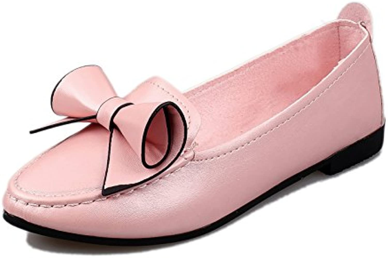 LIUYENIU Señoras sandalias planas de verano/sandalias sandalias o chanclas o sandalias/Womens Sandals,40,Rosa