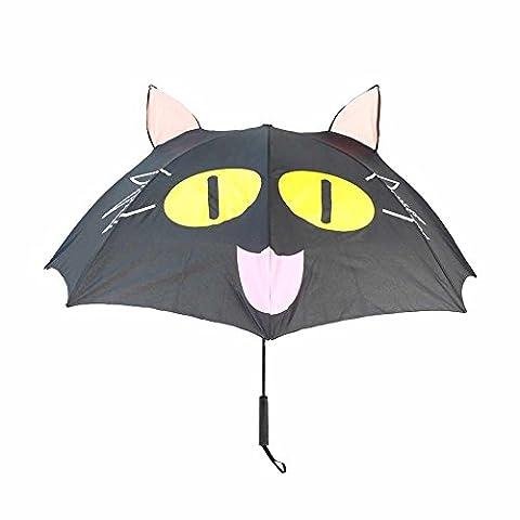 Geekinvader Regenschirm Stockschirm Sonnenschirm Taschenschirm Faltschirm Automatik faltbar das Einhorn Cosplay Fantasy Katze Grinsekatze Nemu Neku Panda viele Modelle 72cm lang (21971-9006-00000)