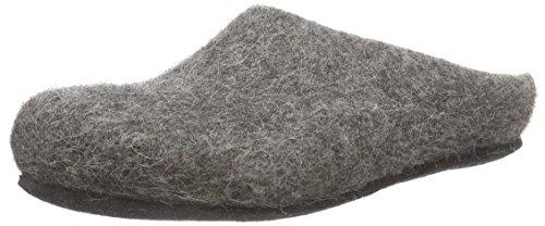Kitz-Pichler AT 719 Unisex-Erwachsene Pantoffeln Grau (Steinschaf 4850)