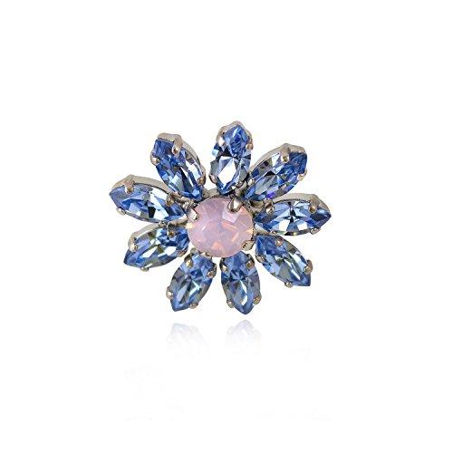 Rosaspina firenze, anello fiore