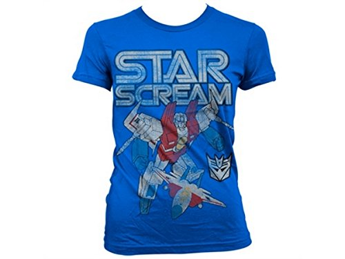 Transformers - T-shirt - Manches Courtes - Femme -  bleu - Medium
