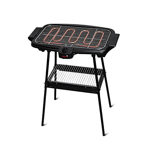 Harper BQS1000 Barbecue Éléctrique sur Pied Noir