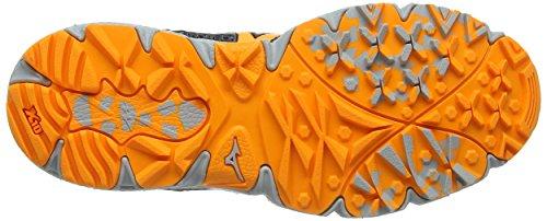 Mizuno Wave Kien 3 G-Tx (W), Scarpe da Corsa Donna Grigio (Dark Shadow/orange Pop/high-rise)
