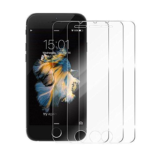 iPhone 7/ 8 Plus Hülle - iHarbort Weich Gelee Gel TPU Silikon iPhone 7/ 8 Plus Tasche Schutzhülle Case Cover Stoßstange-Abdeckung mit Stoßdämpfung Stoßstange mit Displayschutzfolie, Transparent Transparente II