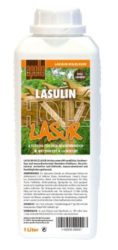 Lasulin Holzlasur, 1L Palisander, Wetterfest