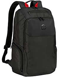382112a9b Delsey Paris PARVIS PLUS Zaino Casual, 48 cm, 27 liters, Nero (Noir