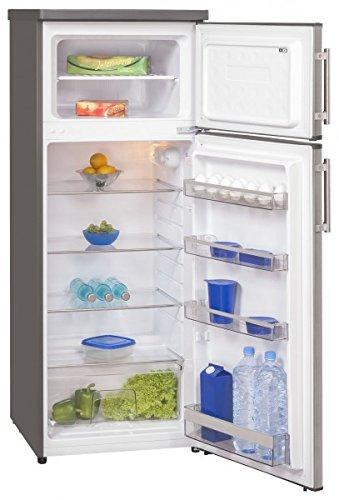 Exquisit 212 Liter Kühlschrank Gefrier Kombination 4 Sterne Eis Fach KGC 270/45-4 A++