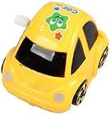 TOOGOO(R) Yellow Plastic Wind-up Clockwork Racing Car Toy for Children