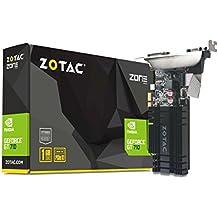 Zotac ZT-71304-20L GeForce GT 710 1GB GDDR3 - Tarjeta gráfica (GeForce GT 710, 1 GB, GDDR3, 64 bit, 2560 x 1600 Pixeles, PCI Express x1)