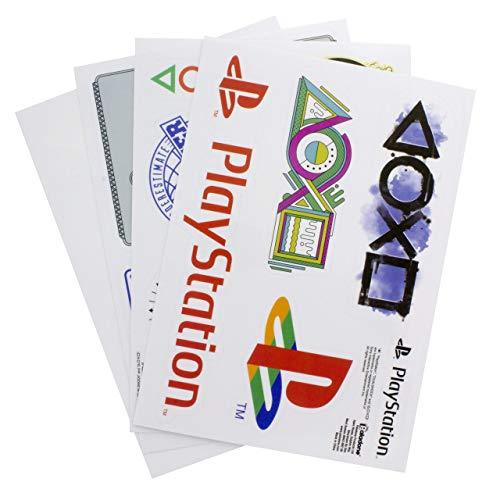 Playstation Gadget Aufkleber Wiederverwendbar Wasserdicht Aufkleber, Vinyl, Mehrfarbig, 1x 21x 15cm