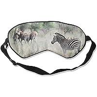 Schlafmaske, Zebra-Augenschutz, weich und bequem, Augenbinde für vollständige Verdunkelung und Lichtblockierung... preisvergleich bei billige-tabletten.eu