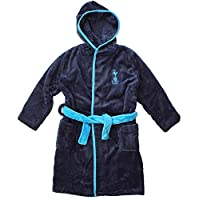 Boys Official Tottenham Hotspur THFC Spurs Hooded Dressing Gown Sizes from 2 to 12 Years