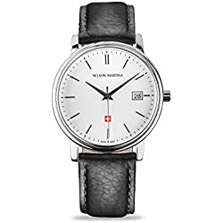 Men's Watch Nelson Martina Classic Silver 310