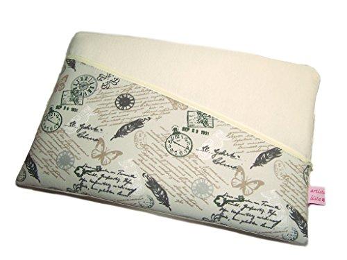 Tablet Hülle Notebooktasche Manuskript mit Haupt- und Außenfach, Maßanfertigung, z.B. iPad Pro 10,5