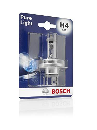 Bosch 1987301001 Pure Light - Bombilla H4 (para faros delanteros)