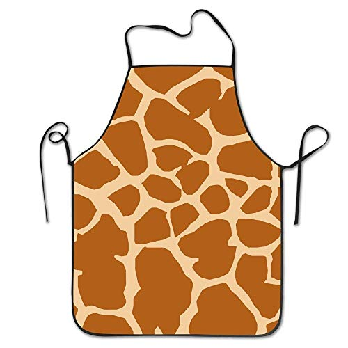 rwwrewre Kitchen Bib Apron Giraffe Cooking Creative Adult Funny Adjustable for Cooking Baking Kitchen Restaurant Crafting BBQ Unisex Oyster-server