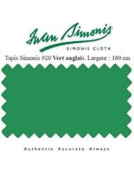 Simonis - Tapis Simonis 920 160 cm vert Anglais