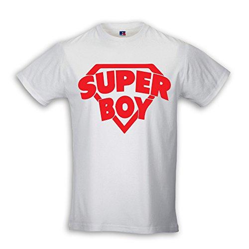 Babloo T Shirt Bambino Maglia Bambino Idea Regalo Papa Maa Super Boy