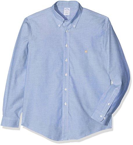 Brooks Brothers 100015198_Bluette, Chemises Décontractées Homme Blue (BLUETTE)
