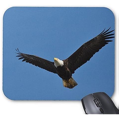 Bald Eagle Soaring nel cielo blu mouse