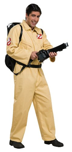 Rubie's Official Ghostbusters Deluxe Fancy Dress - Standard Size