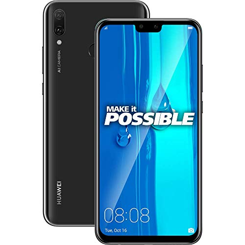 Huawei Y9 2019 (Black, 4GB RAM, 64GB Storage)