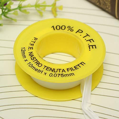 te Thread Seal Tape 12mm*10m*0.075mm ()