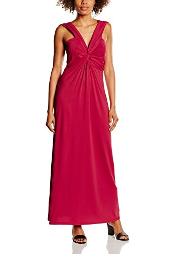 HotSquash Twist Front Maxi, Robe Femme Rouge (Red)