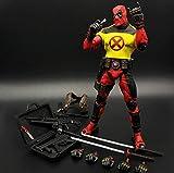 Action Figures Deadpool Avengers Bambola Mobile Modello Giocattolo Statua Decorazione Domestica Regalo - 19,5 Cm / 7,7 \ C
