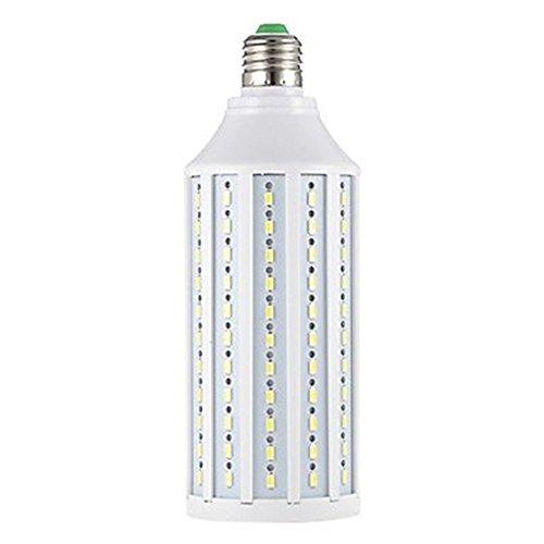 LED-Mais-Licht, Minkoll 25W AC220V132 SMD5630 LED-Gl¨¹hlampe mit Sockel E27, k¨¹hles Wei?