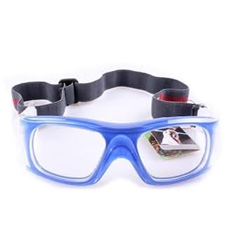 Lunettes de sport Lunettes de protection des yeux pour Sports Ballon Basket-ball Football volley-ball etc.- Bleu