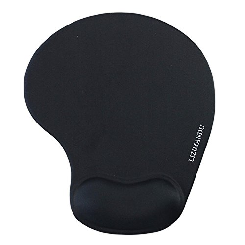 lizimandu Memory Foam rutschfeste Tastatur Handgelenk Rest Pad und Maus Handgelenkauflage, langlebig und komfortabel & leicht für einfaches Tippen & Schmerzlinderung keyboard wrist rest schwarz - Tastatur-handgelenk-rest-pad